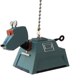 Doctor Who K-9 Robot Dog Ceiling Fan Pull