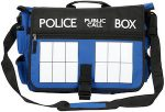 Doctor Who Tardis Blue Messenger Bag