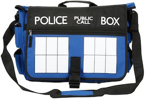Tardis Blue Messenger Bag