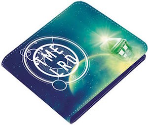 Time Lord Cosmos Bi-Fold Wallet