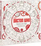 Doctor Who Travels In Time adult Coloring Book