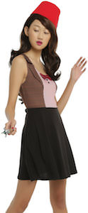 11th Doctor Skate Style Cosplay Dress