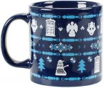 Doctor Who Ugly Christmas Sweater Mug