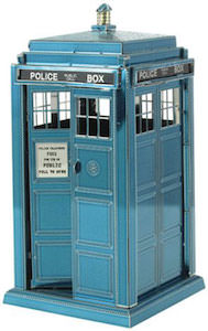 Doctor Who Tardis 3D Metal Model
