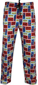 Men's Squares Doctor Who Lounge Pants