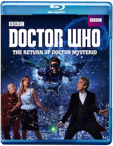 Doctor Who The Return of Doctor Mysterio Blu-Ray