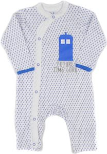 Baby Footless Tardis Future Time Lord Pajama