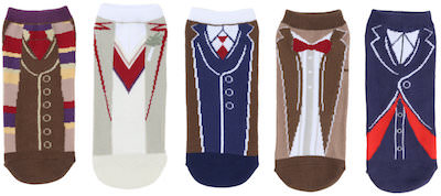 Doctor Who 5 Doctor's outfit socks