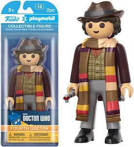 4th Doctor Playmobil Action Figure