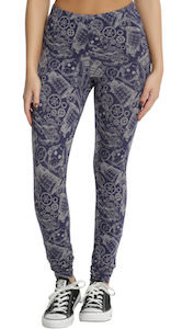 Tardis And Villains Sketch Leggings