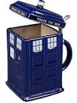 Doctor Who Ceramic Tardis Stein Mug