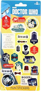 Doctor Who Sticker Sheet Based On The 11th Doctor