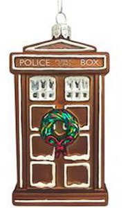 Gingerbread Tardis Ornament