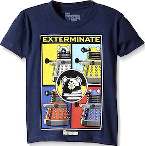 Kids Dalek Exterminate T-Shirt