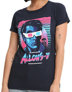 Doctor Who Retro Allons-y T-Shirt