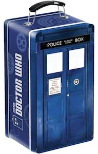 Tardis Shaped Lunch Box