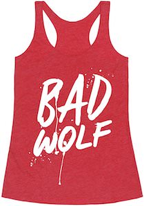 Women's Red Bad Wolf Tank Top