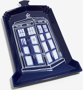 Ceramic Tardis Serving Tray