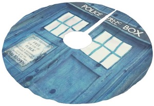 Tardis Tree Skirt