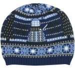 Dalek And Tardis Christmas Beanie Hat