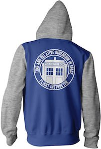 Doctor Who Tardis Flight Instructor Hoodie