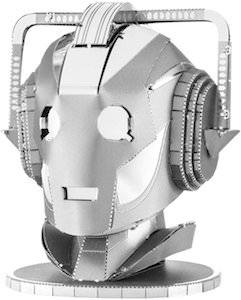 Cyberman 3D Metal Model
