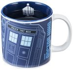 Doctor Who heath changing Tardis mug