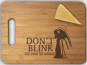 Weeping Angel Cutting Board