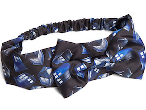 Flying Tardis Headband