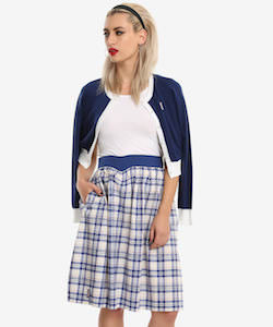 Plaid Doctor Who Skirt
