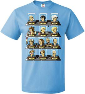 13th Doctors Regeneration T-Shirt