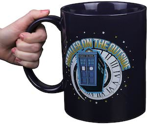 Tardis Smaller On The Outside Mug