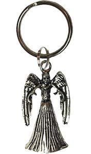 Weeping Angel Key Chain