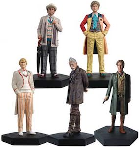 Mid Era Doctor Who Figure Set