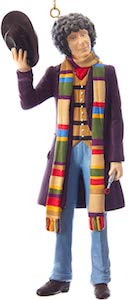 Doctor Who 4th Doctor Christmas Ornament