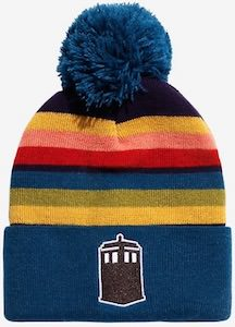 13th Doctor and Tardis Beanie Hat