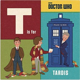 Doctor Who T Is For Tardis Book