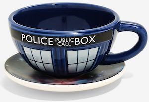 Tardis Galaxy Cup And Saucer