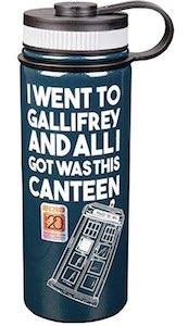 Gallifrey Water Bottle