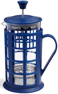 Tardis French Press Coffee Maker