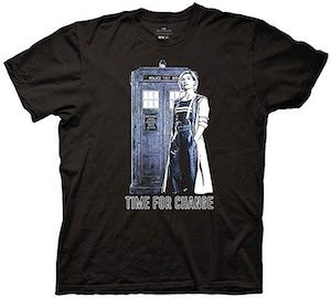 13th Doctor Time For A Change T-Shirt