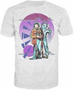 4th Doctor And A Cyberman T-Shirt