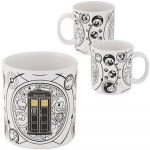 Doctor Who Tardis And The Galaxy Mug