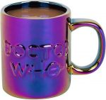 Doctor Who Metallic Holographic Logo Mug