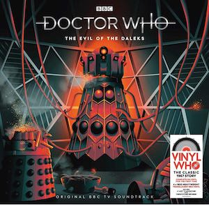 The Evil Of The Daleks Vinyl Soundtrack