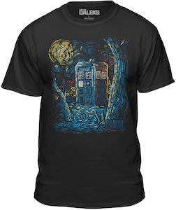 Van Gogh Painted The Tardis T-Shirt