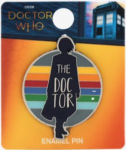 13th Doctor Enamel Pin