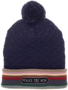 13th Doctor Striped Beanie Hat