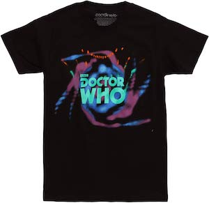 Doctor Who Swirly Logo T-Shirt