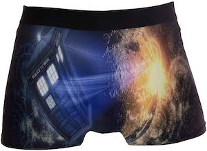 Doctor Who Tardis In Space Boxer Briefs